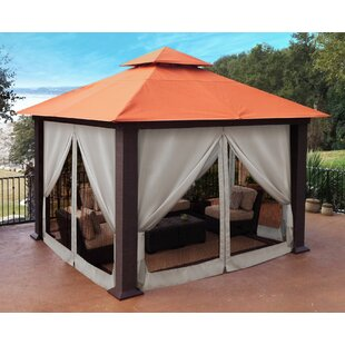 Seville 12 Ft. W x 12 Ft. D Aluminum Patio Gazebo by Paragon-Outdoor