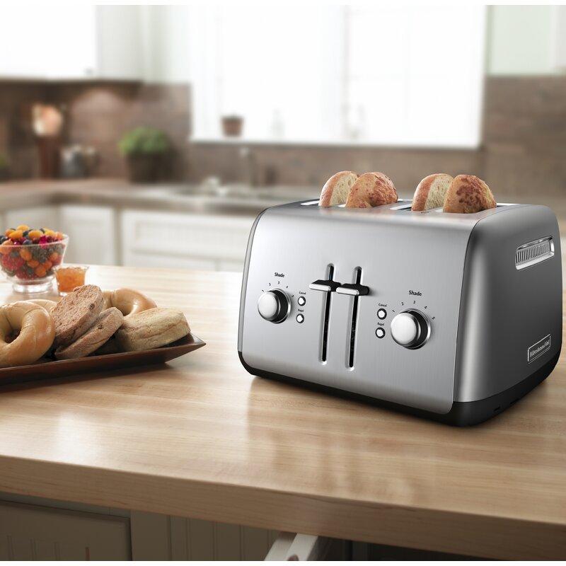 Kitchenaid Kitchenaid 4 Slice Toaster Reviews Wayfair