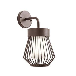 Tom Outdoor Wall Lantern By Mercury Row