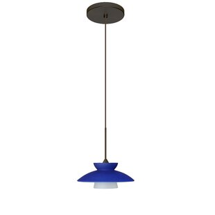 Besa Lighting Trilo 1-Light Cone Pendant