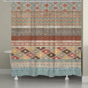 Avedon Southwestern Stripe Shower Curtain