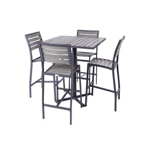 Mason 5 Piece Bar Height Dining Set