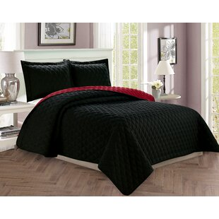 Ireland Diamond Design Reversible Comforter Set