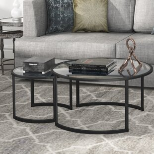 Mitera 2 Piece Coffee Table Set by Hudson&Canal Best