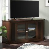 Solid Wood Corner unit TV Stand for TVs up to 65 by Hokku Designs