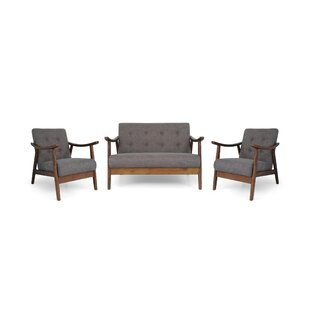 Best Price Bankhead 3 Piece Living Room Set by George Oliver Reviews (2019) & Buyer's Guide