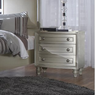 Anette 3 Drawer Nightstand by Willa Arlo Interiors