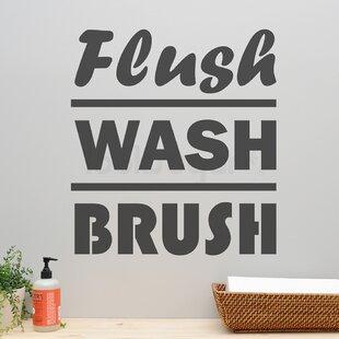 Bathroom Wall Decals Wayfair