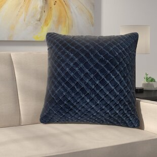 Lao Velvet Throw Pillow