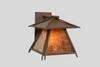 Worrell 1-Light Outdoor Wall Lantern by M..