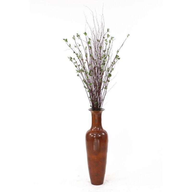 Distinctive Designs Birch Branches Drop In Floor Plant In