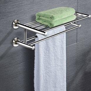 2 Bar Towel Rack Towel Bars Racks And Stands You Ll Love In 2021 Wayfair