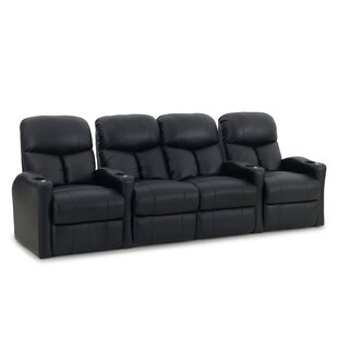 Latitude Run Center Loveseat Home Theater Row Seating (Row of 4)