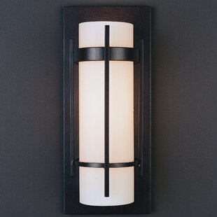 Buy clear 1-Light Flush Mount with Bars By Hubbardton Forge