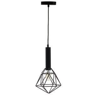 Wrought Studio English 1-Light Geometric Pendant