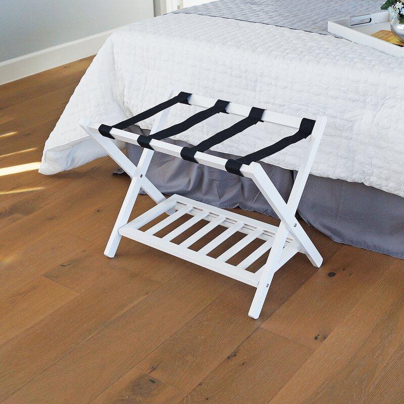 Welland Industries Llc Wood Folding Luggage Rack Amp Reviews