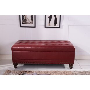 Classic Upholstered Storage Bench