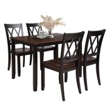 Ambriana - 5 Piece Dining Set by Red Barrel Studio®