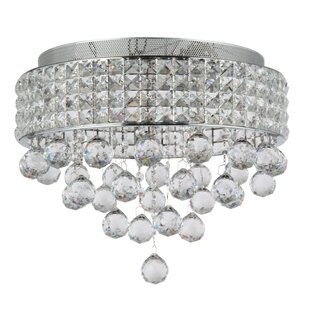 Everly Quinn Ahlstrom 6-Light Flush Mount