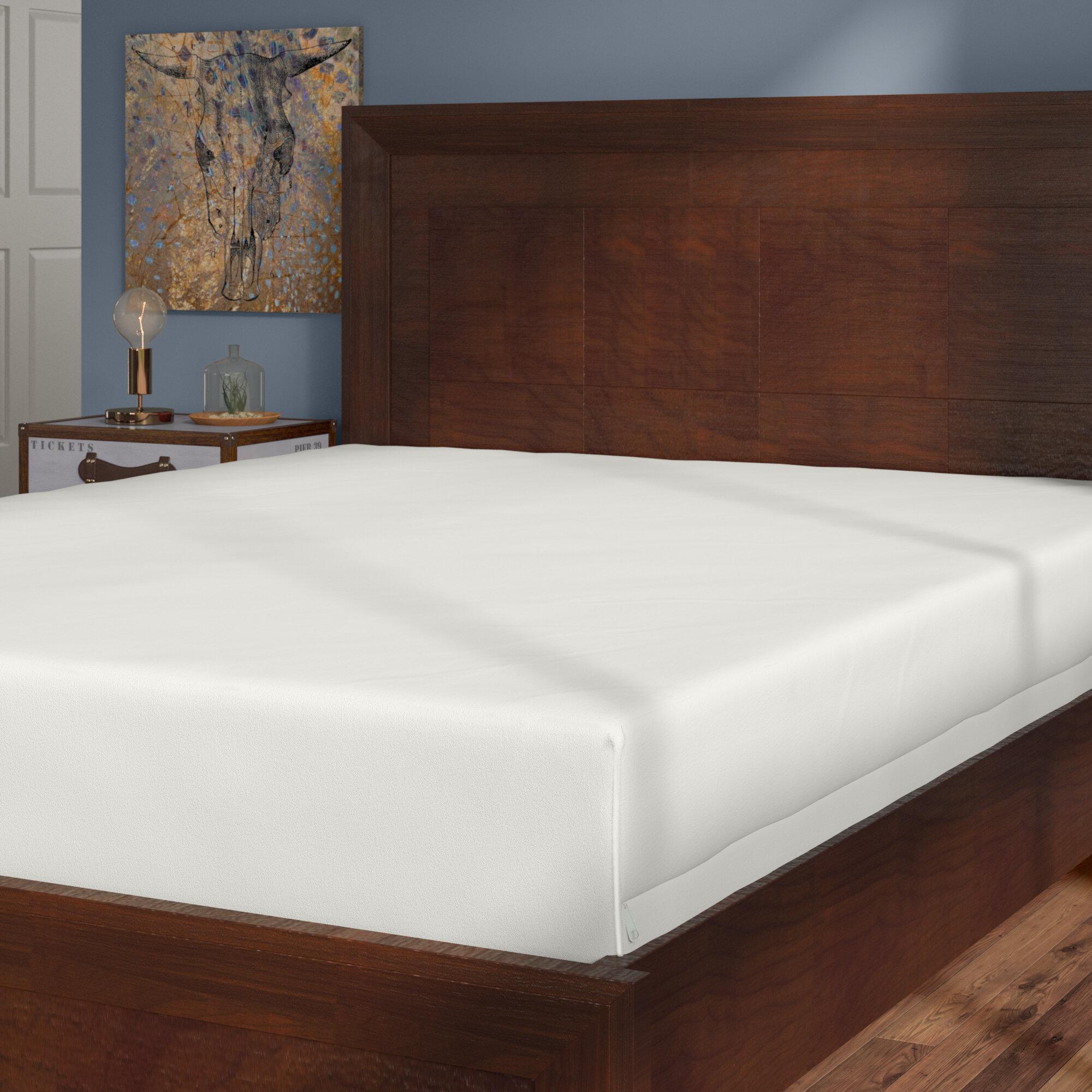 Alwyn Home Bed Bug Blocker Zippered Hypoallergenic Waterproof ...