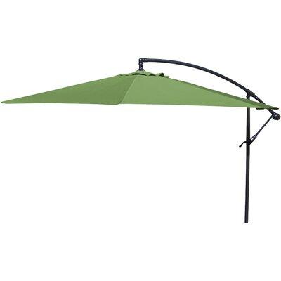 Brayden Studio Trotman 10' Cantilever Umbrella Fabric: Olive
