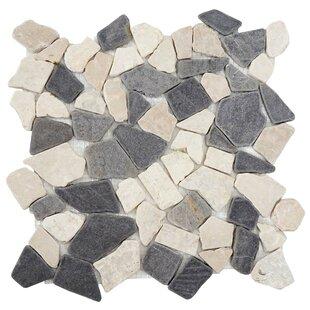 Vigo 30 x 30cm Marble Splitface Tile (Set of 11) by Mendler