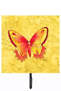 New 4 MultiColoured Butterfly Over Door Hook