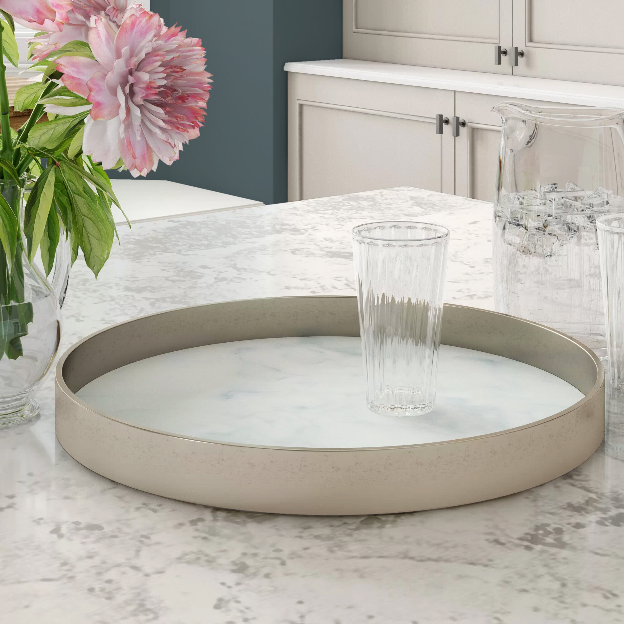 Wrought Studio Glasser Serving Tray Reviews