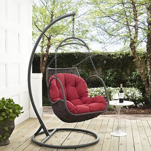 Holladay Swing Chair With Stand by Bay Isle Home 2019 Online
