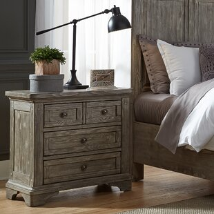 Barkell 3 Drawer Nightstand by Darby Home Co