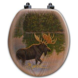 WGI-GALLERY Lake Moose Toilet Seat