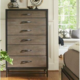 Union Rustic Pearson 5 Drawer Chest