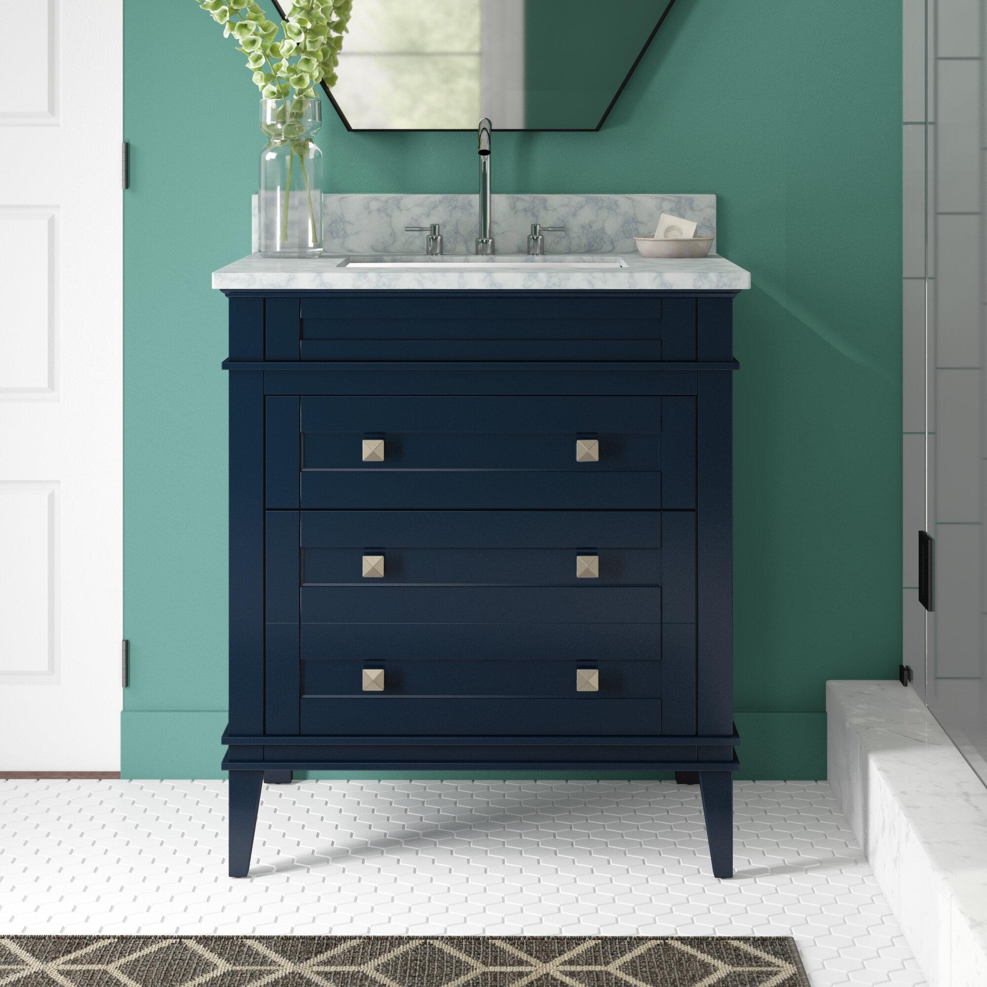 Wrought Studio Trenton 30 Single Bathroom Vanity Set Reviews Wayfair