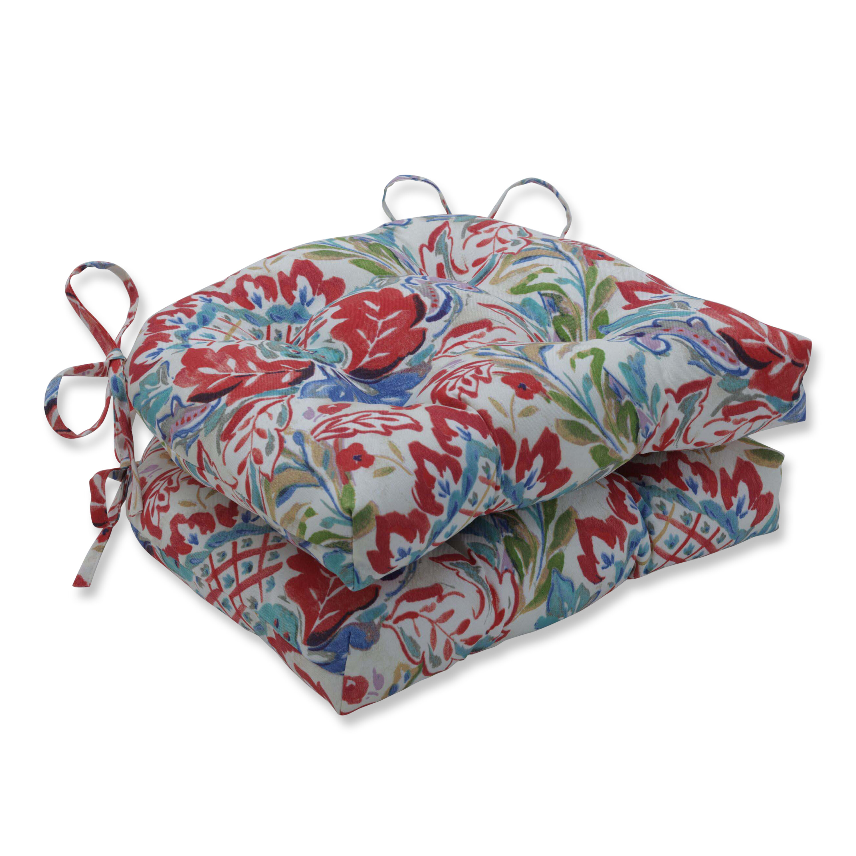 Charlton Home Crew Park Flying Reversible Indoor Outdoor Dining Chair Cushion Wayfair