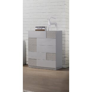 Latitude Run Lyset 5 Drawer Chest