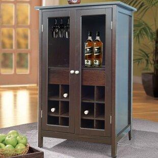 Jenlea 12 Bottle Floor Wine Cabinet