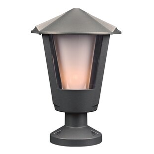 Charlton Home Grecia Outdoor 1-Light Pier Mount Light