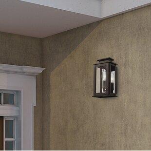 Farmingdale 1 Light Solid Brass Outdoor Flush Mount