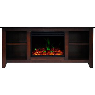 Santa Monica Electric TV Stand for TVs up to 60 with Fireplace