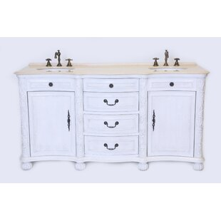 England 37 Double Bathroom Vanity Set by B&I Direct Imports