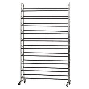 10-Tier 50 Pair Shoe Rack