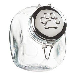 Space Saver Hermetic Preserving 2.25 qt. Pet Treat Jar