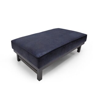 Marquis Microfiber Cocktail Ottoman by 17 Stories