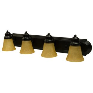 Charlton Home Benfield 4-Light Vanity Light
