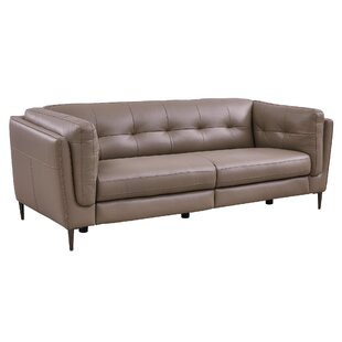 Goodner Leather Reclining Sofa