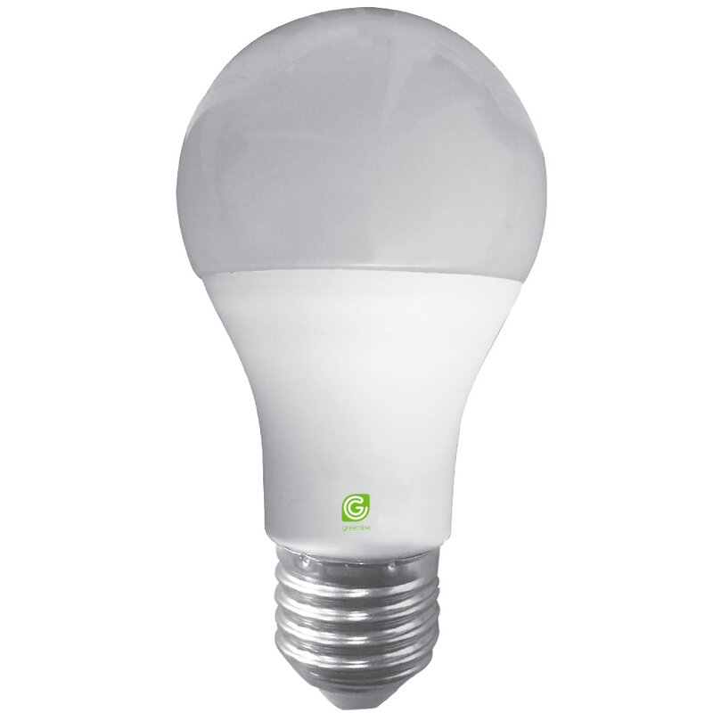 Greenlite 9 Watt 60 Watt Equivalent A19 Led Smart Dimmable Light Bulb Warm White 2700k E26 Medium Standard Base Wayfair Ca