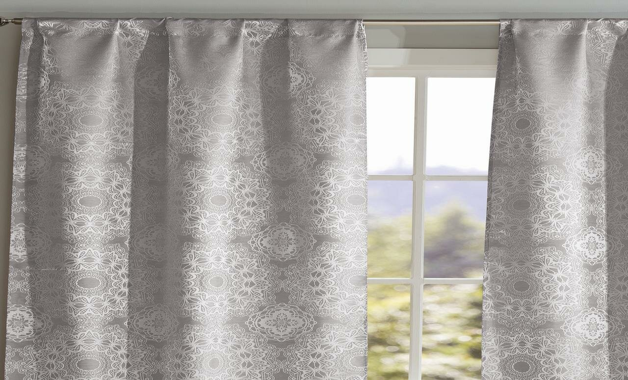 jacobine window sheer panels panel marble curtain curtains