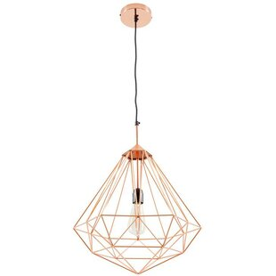 Reviews Diego 1-Light Geometric Pendant By Wrought Studio