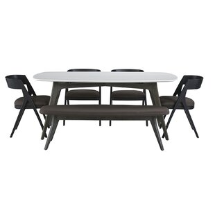 Dumfries 6 Piece Dining Set Brayden Studio