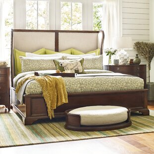 Rachael Ray Home Upstate Shelter Upholstered Sleigh Bed